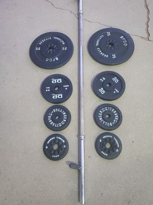 Stander weight set .. total of 105lbs .. for Sale in Hesperia, CA