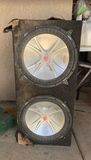 Woofers 15's Kickers for Sale in Hesperia, CA