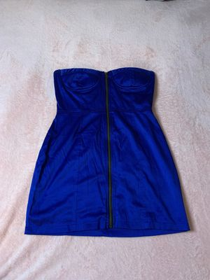 Medium size tube dress royal blue for Sale in Queens, NY