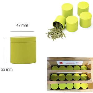 "Small Tin Can Box with Airtight Lids Canister for Coffee Tea Candy Storage Loose Leaf Tea Tin Containers Storage 15 Pcs S=(D:1.85""*H:1.77"") , Green for Sale in Alexandria, VA"