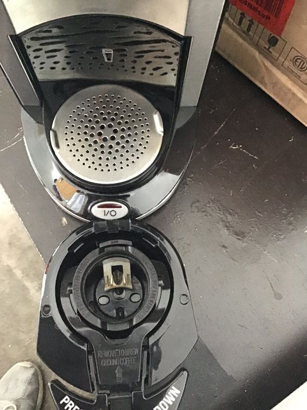 Hamilton beach single K cup brew station/ black / new in the box