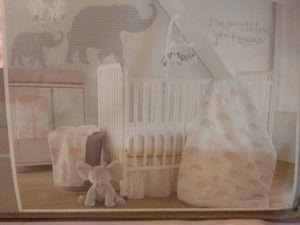 Baby girl crib bedding for Sale in Warren, MI