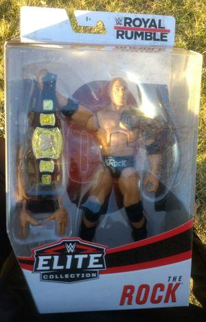 Wwe titles Rock, Brock Lesnar for Sale in Saint James, NY
