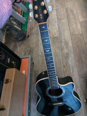 Ovation Lx Custom Black for Sale in Tampa, FL
