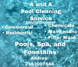 Pool cleaning for Sale in Ennis, TX