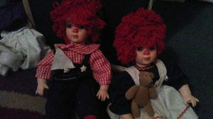 Raggedy Ann and Andy for Sale in Winter Haven, FL