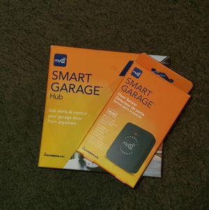 MyQ smart garage door opener and extra sensor. for Sale in Las Vegas, NV