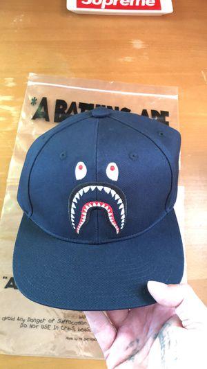 Navy Bathing Ape PONR Snapback Hat for Sale in Pittsburgh, PA