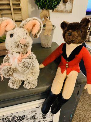 Vintage style stuffed animals for Sale in Virginia Beach, VA