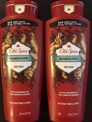Old Spice Bearglove Body Wash, 21 oz for Sale in North Las Vegas, NV