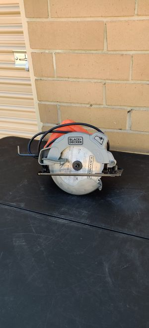 Black & Decker 7 1/4 Circular Saw Electric for Sale in Irving, TX