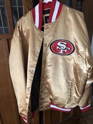49 ers Forty Niners Vintage Jacket Original San Francisco Official Licensed XL for Sale in Los Angeles, CA
