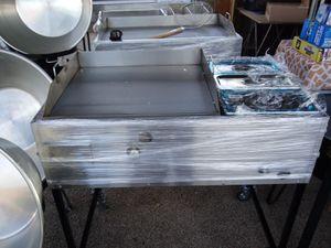 Plancha de tacos 20x24 con 3 bani maria 390 for Sale in Las Vegas, NV