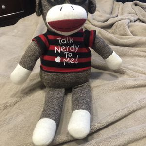 Dan Dee Sock Monkey Plush for Sale in Canyon Country, CA