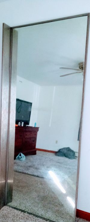 Huge mirror 7ft by 3 ft for Sale in Westerly, RI