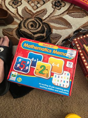 Toy Learning math game for Sale in Elk Grove, CA