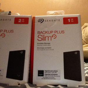 Seagate Backup Plus Portable Storage for Sale in Sacramento, CA