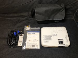 Projector Epson EX3220 3000 Lumens Color Brightness (color light output) for Sale in Evanston, IL