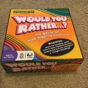 Would You Rather....? Family Board Game for Sale in Portland, OR