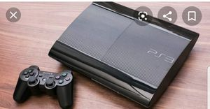 Ps3 w games and 2 controllers for Sale in Beverly, MA