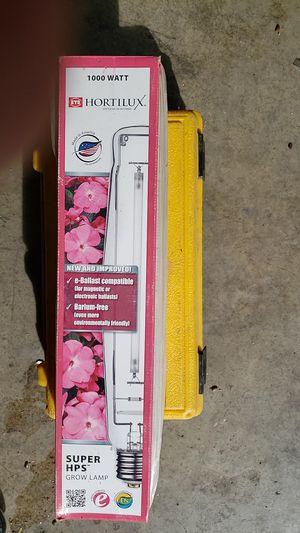 HORTILUX Super HPS 1000 watt grow lamp for Sale in Perris, CA