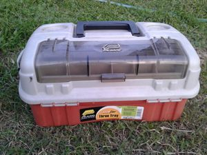 Plano 3 Tray 7603 Fishing Tackle Box for Sale in Austin, TX