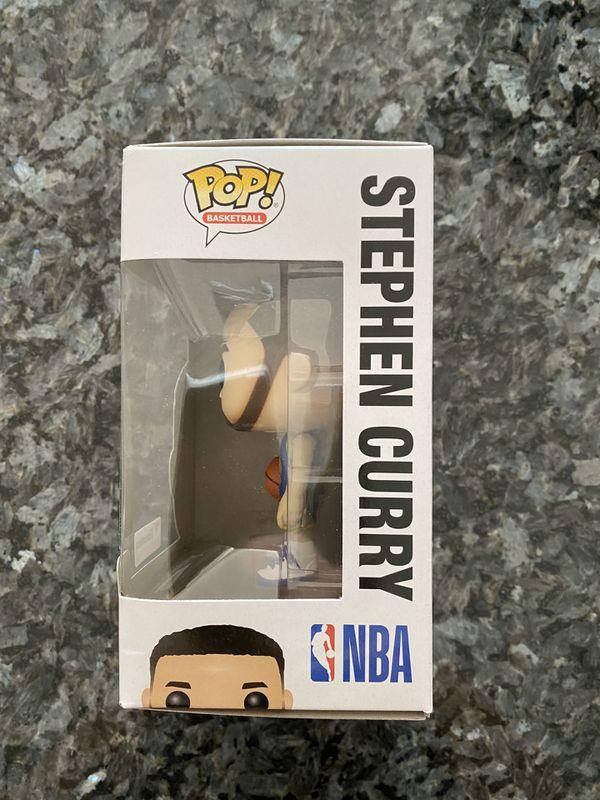 Funko POP! Stephen Curry - Golden State Warriors - Blue Jersey - Fanatics Exclusive - #43
