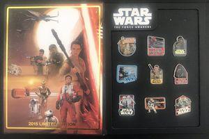 Star Wars The Force Awakens Disney Pin Set for Sale in Las Vegas, NV