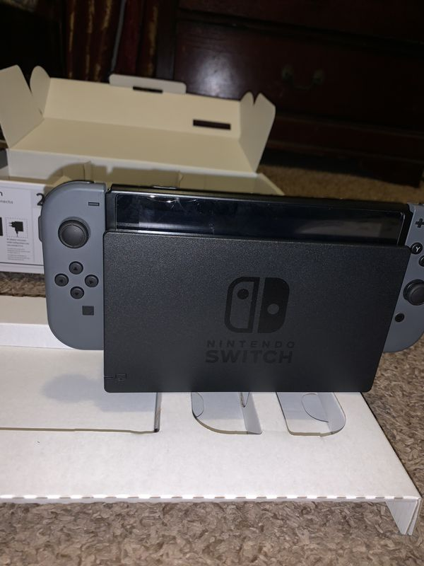 Nintendo Switch Gray Version Hardly Used
