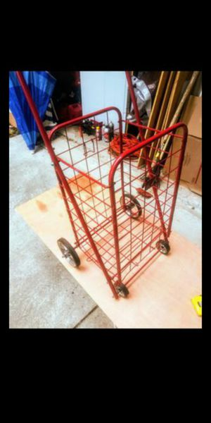 Foldable, pull behind cart. for Sale in Clermont, FL