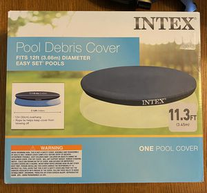 Intex 12FT Easy Set Pool Cover for Sale in Highland, CA