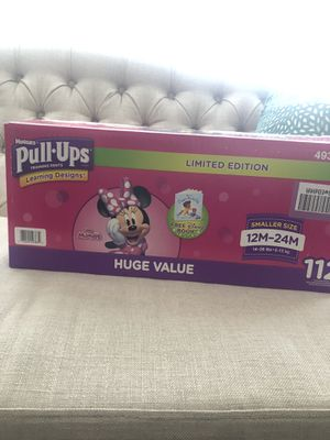 BRAND NEW BOX of Huggies Pull-up 🎀 for Sale in Tolleson, AZ