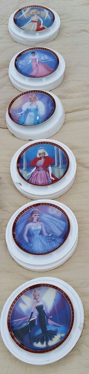 Barbie collection plates for Sale in Pontiac, MI