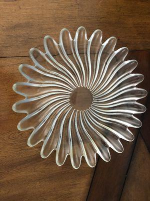 Decor glass plate for Sale in Manassas, VA