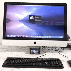 "**Apple iMac 27"" Late 2009 with Adobe Photoshop and Final Cut Pro X** *macOS High Sierra 10.13.6 ** Price $ 400** *Intel Core i7 @ 2.8 ghz. *8 GB r for Sale in Jurupa Valley, CA"