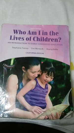 Who Am I in the Lives of Children? By Feeney for Sale in Fresno, CA