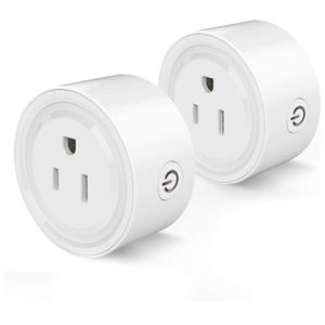 Wi-fi Smart Plug Socket Outlet Timer - White, Pack of 2 for Sale in Austin, TX