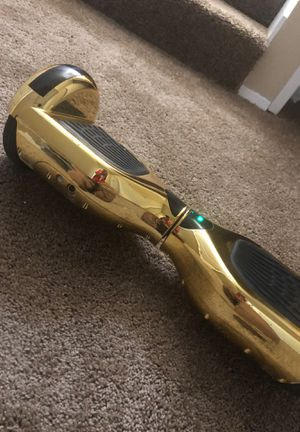 Gold hoverboard read details for Sale in Tacoma, WA