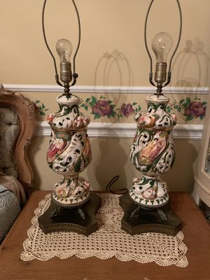 Capodimonte Lamps for Sale in Palm Beach Gardens, FL