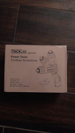 Tack Life cordless screwdriver 30 pcs for Sale in Lincoln Acres, CA