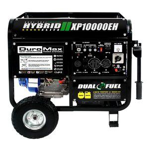 DuroMax 10000 Watt Hybrid Dual Fuel Portable Gas Propane Generator - RV Standby for Sale in Nashville, TN