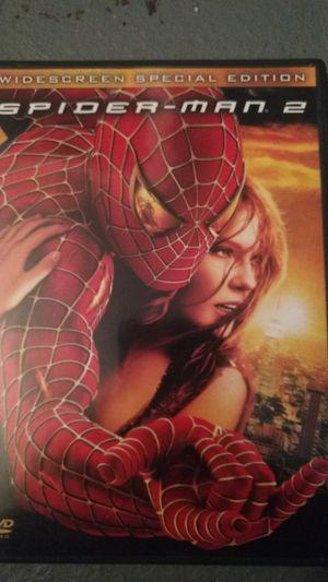 Spiderman 2 dvd for Sale in Missoula, MT