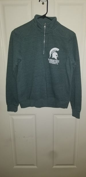 Michigan State Woman's Size Small Zip up Hoodie Like New for Sale in Taylor, MI