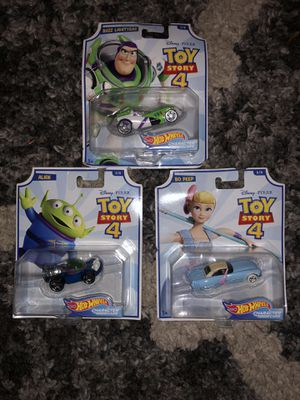 Toy story hot wheels collectibles for Sale in Portland, OR
