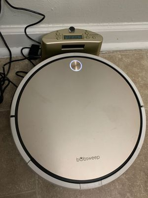 Bobsweep PRO Pro Robotic Vacuum Cleaner, Gold for Sale in Greensboro, NC