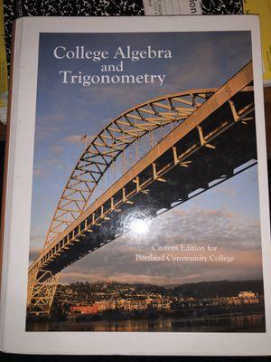 College algebra and trigonometry for Sale in Hillsboro, OR