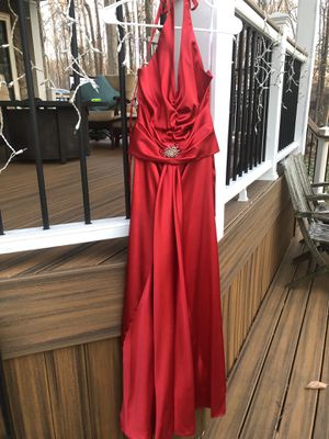 Red Halter Prom Formal Dress Size XS for Sale in Fairfax, VA