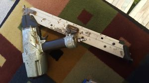 Used nail gun with compressor, hose and electrical cable for Sale in Seattle, WA