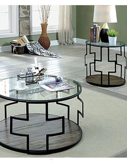 2 - Piece Occasional Coffee Table Set for Sale in Ontario,  CA