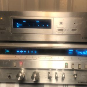 Vintage Pioneer SX 3700 receiver and RG 2 Dynamic Processor for Sale in Accokeek, MD